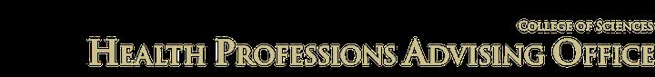 Health Professions Advising Office